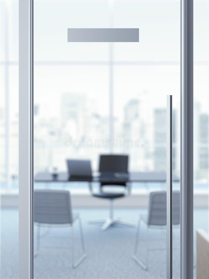 Free Office Door With Nameplate Stock Photos - 45620473