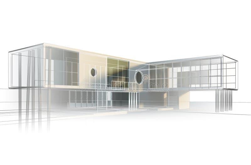 Download Office engineering stock illustration. Illustration of architecture - 18704114