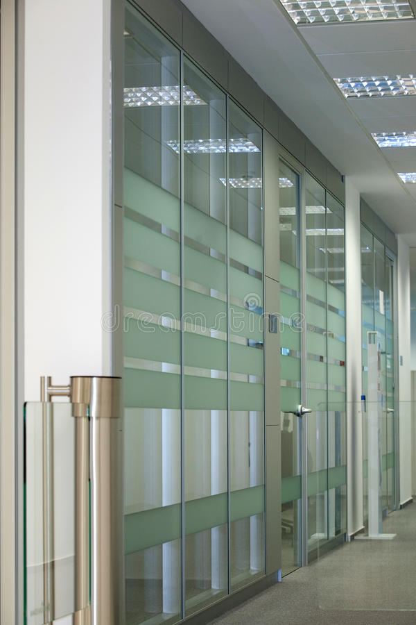 Office entrance stock photography