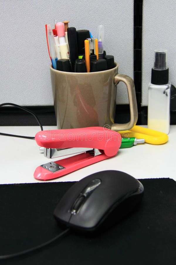 Download Office equipment stock photo. Image of occupation, objects - 25603562
