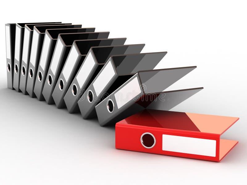 Download Office files stock illustration. Illustration of book - 5650240