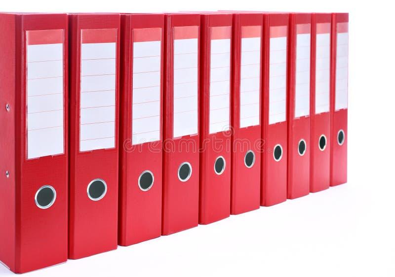 Office folders stock image