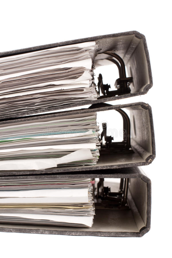 Download Office Folders Royalty Free Stock Photos - Image: 27081048