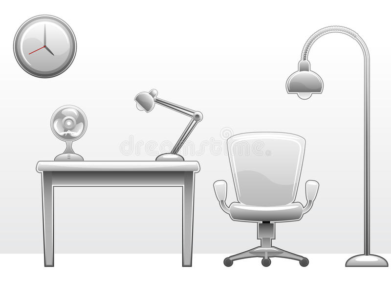 Download Office furniture stock vector. Image of armchair, interior - 21968655