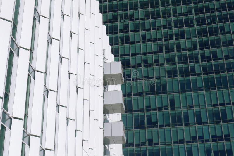 office gebouwen royalty-vrije stock fotografie