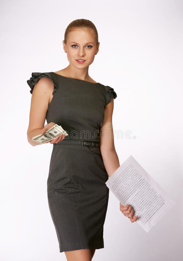 Free Office Girl Stock Images - 23457784