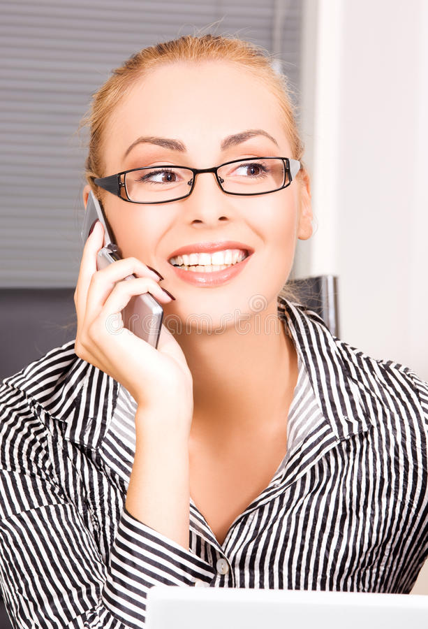 Download Office girl stock photo. Image of female, information - 41454000
