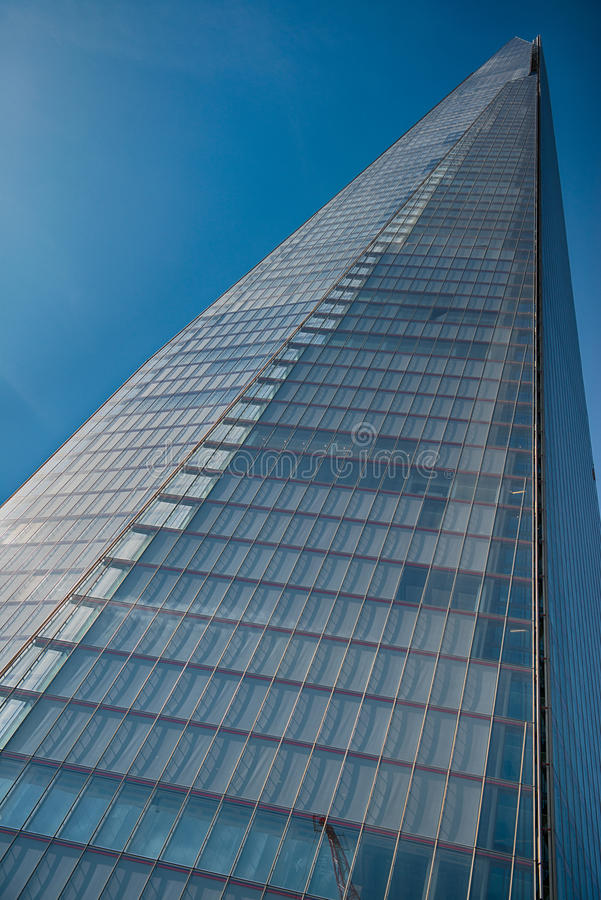Office glass building in abstract stock photography