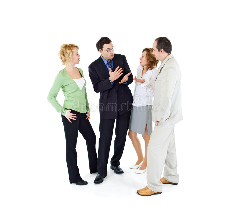 Office gossip people group royalty free stock photography