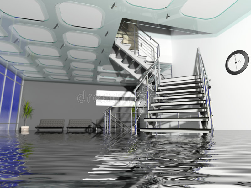 Download Office Hall In Insurance Case Stock Illustration - Image: 3012594