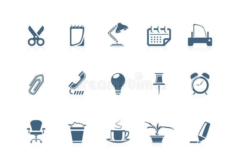 Office Icons 1   Piccolo Series Stock Photo