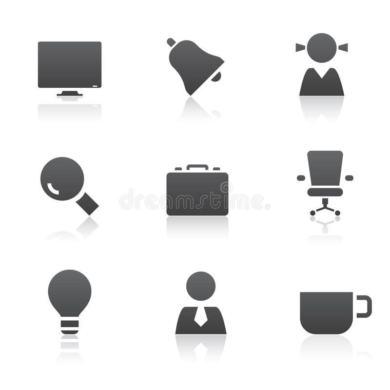 Download Office Icons Royalty Free Stock Image - Image: 11493816
