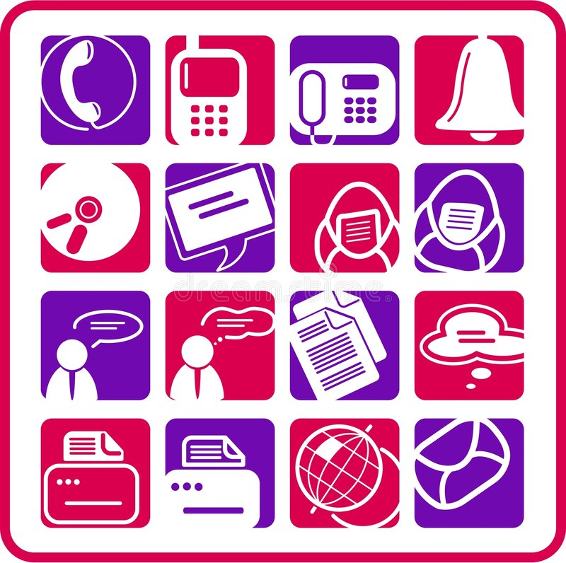 Download Office Icons Royalty Free Stock Images - Image: 5311859