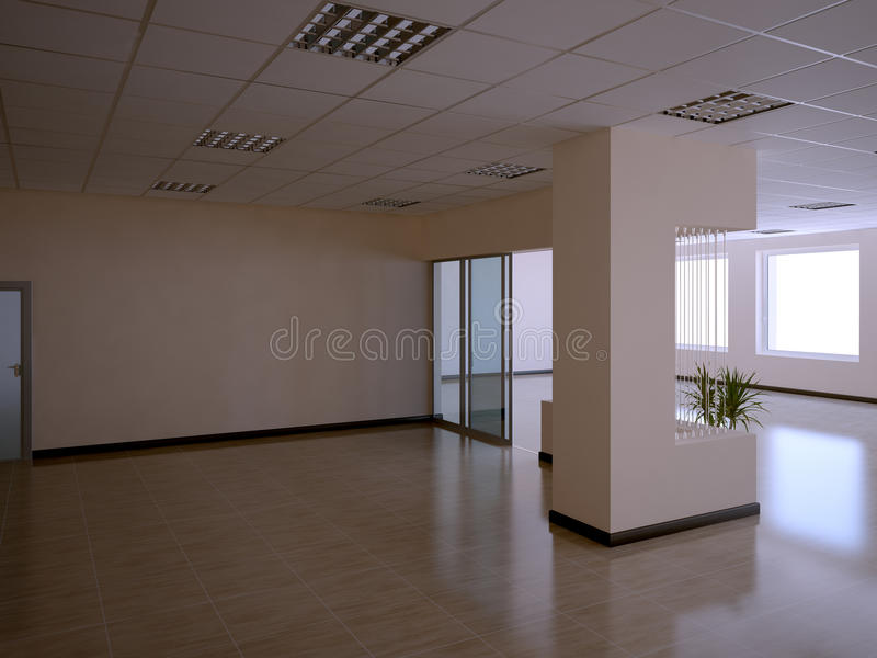 Download Office interior stock illustration. Image of building - 11276349