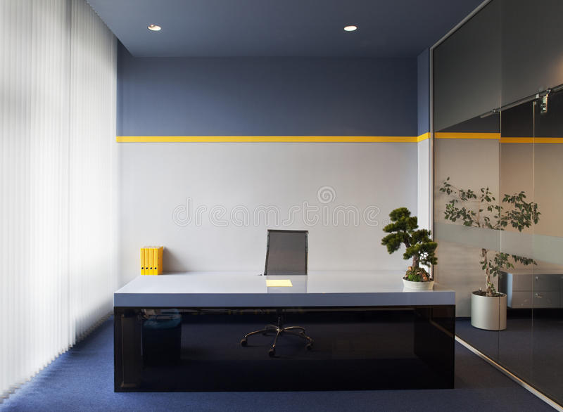 Download Office Interior stock image. Image of decorated, place - 16077747