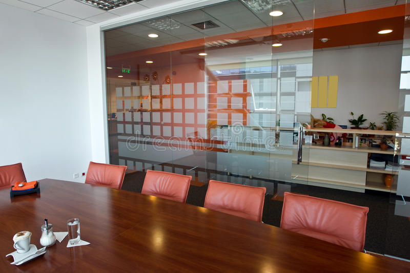 Office interior. A interior of a new office royalty free stock image