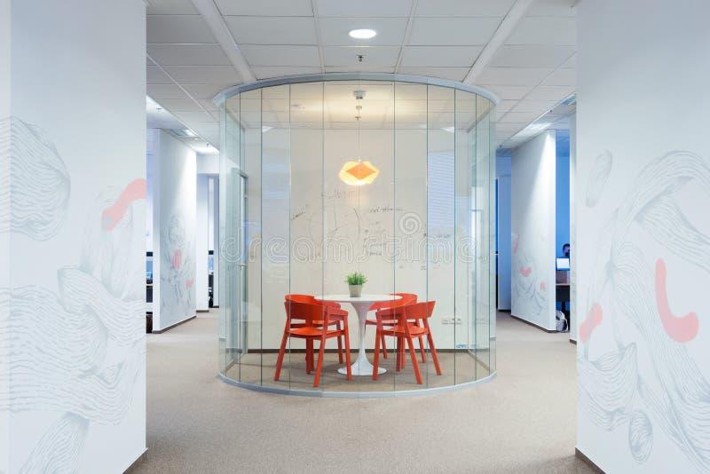 Office interiors created by Kivvi architects, Bratislava, Slovakia royalty free stock photos