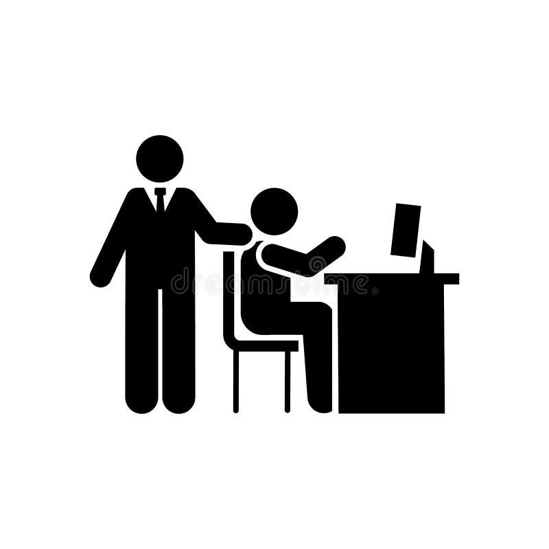 Office, interview, job, conversation icon. Element of businessman icon. Premium quality graphic design icon. Signs and symbols stock illustration