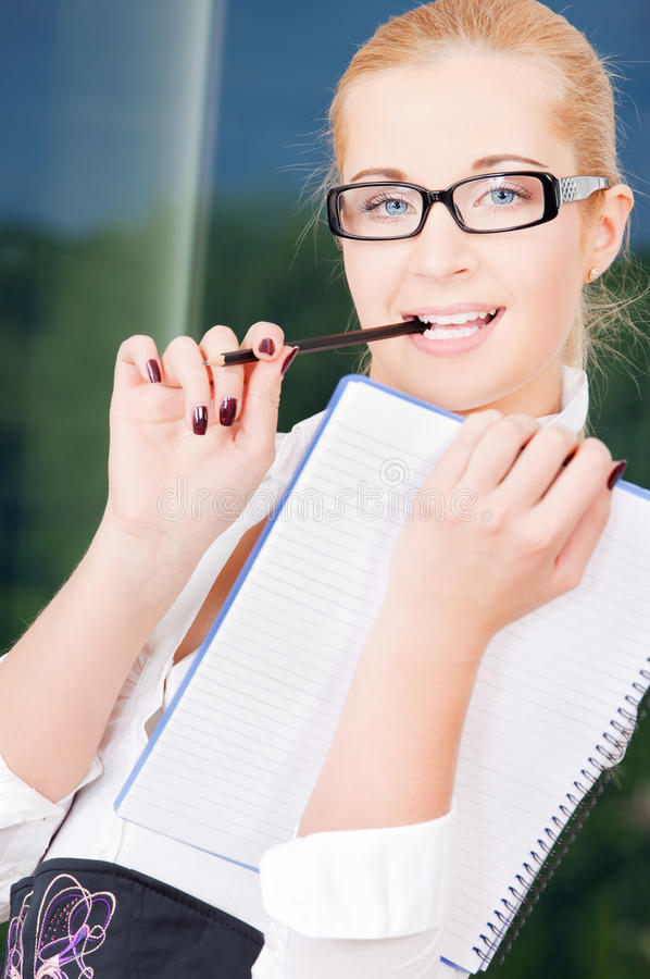 Download Office Lady Stock Photo - Image: 10444680