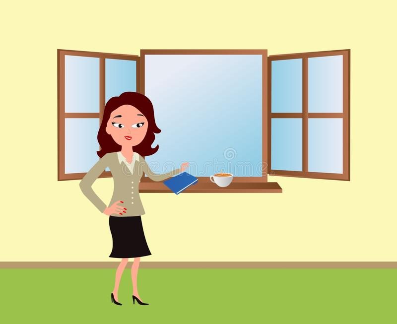 Download Office lady stock vector. Illustration of lady, human - 23070190