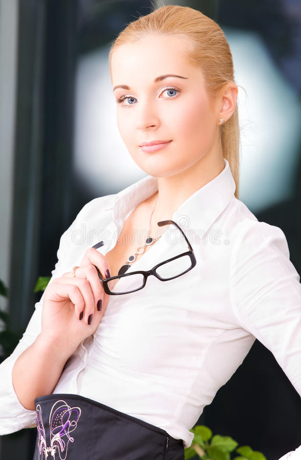 Download Office Lady Stock Photo - Image: 41509231