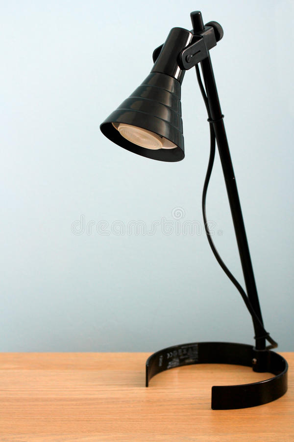 Office lamp background royalty free stock photography