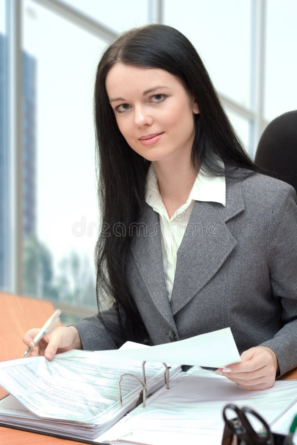 Download Office manager stock image. Image of young, people, woman - 1909707