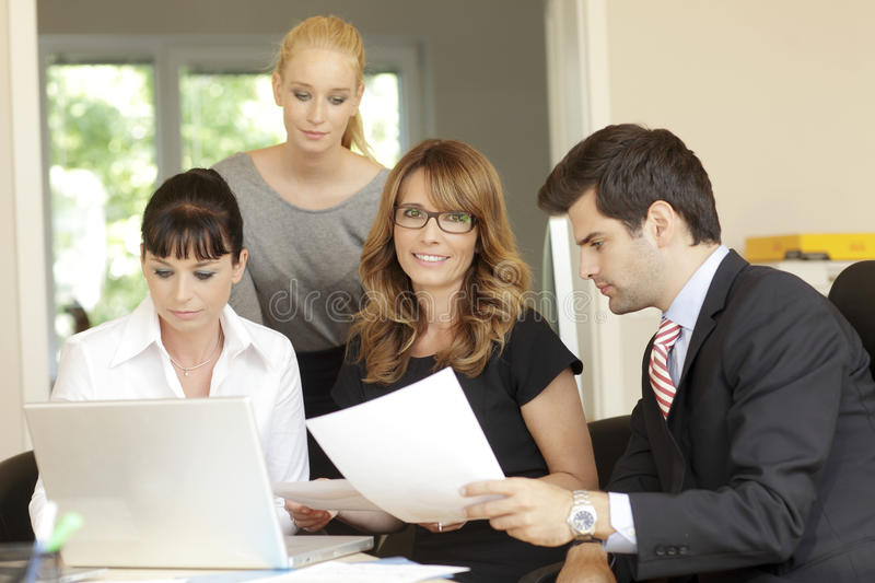 Download Office meeting stock image. Image of number, ideas, global - 33504779