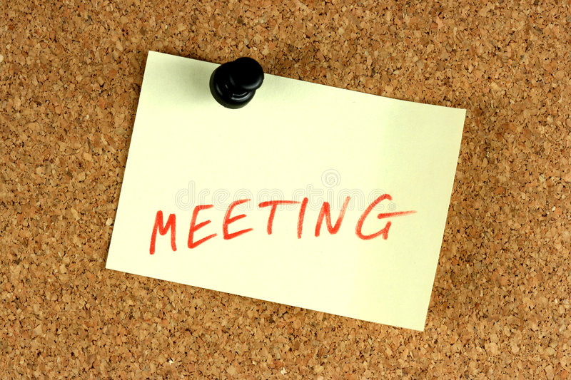 Office meeting info stock images