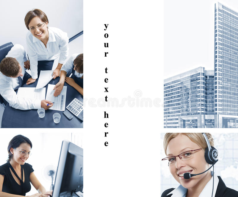 Office Mix Royalty Free Stock Photo