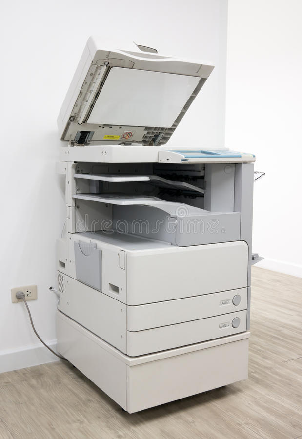 Office Multifunction Printer stock photo