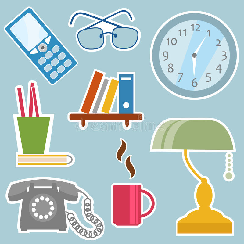 Office Objects Stock Image