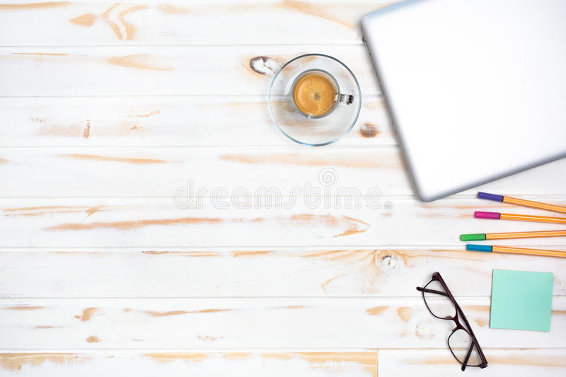 Office objects royalty free stock photography