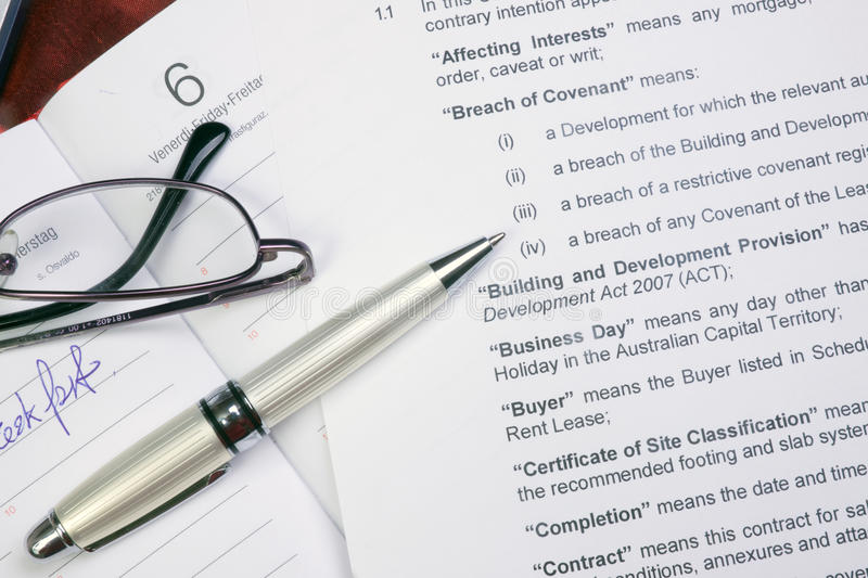Office papers. Papers on the table, charts, contracts and whatever concerning business royalty free stock image