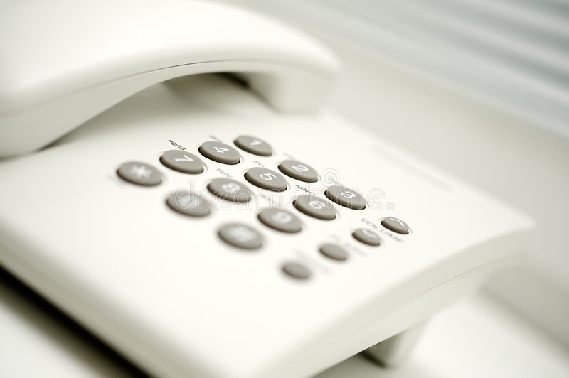 Office phone. Horizontal image of office phone royalty free stock image