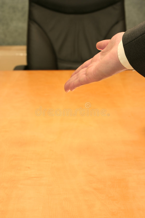 Download Office: please take a sit stock photo. Image of gesturing - 2562804