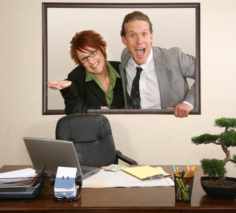 Office Portrait Stock Photo