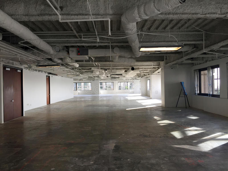 Office pre-construction stock images