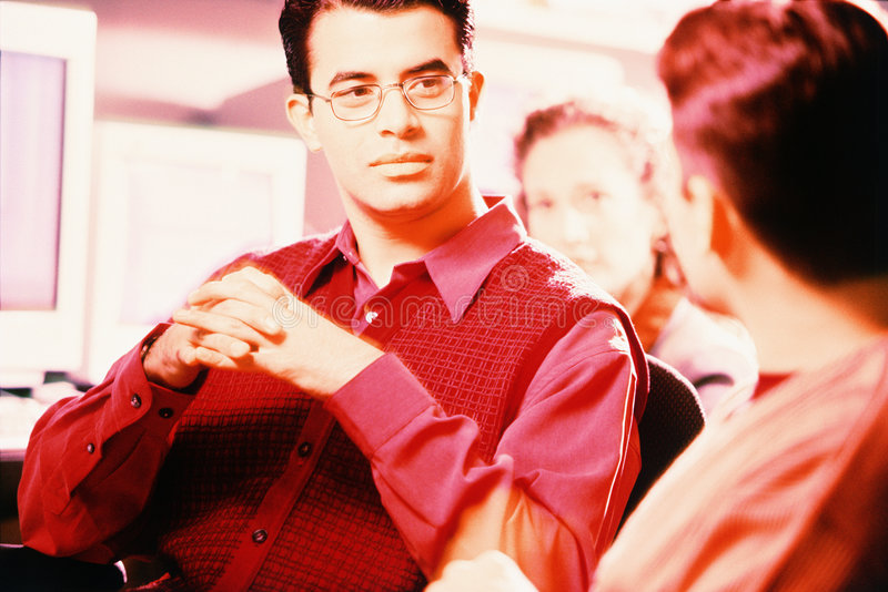 Office professionals stock photos