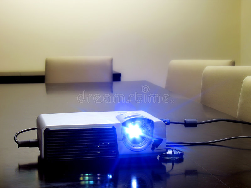 Office projector. stock images