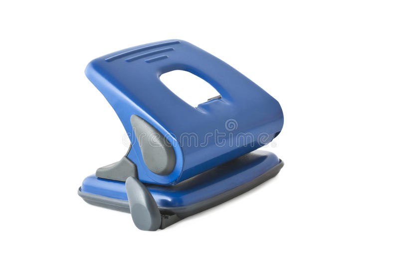 Download Office puncher stock photo. Image of puncher, blue, accessory - 17921840