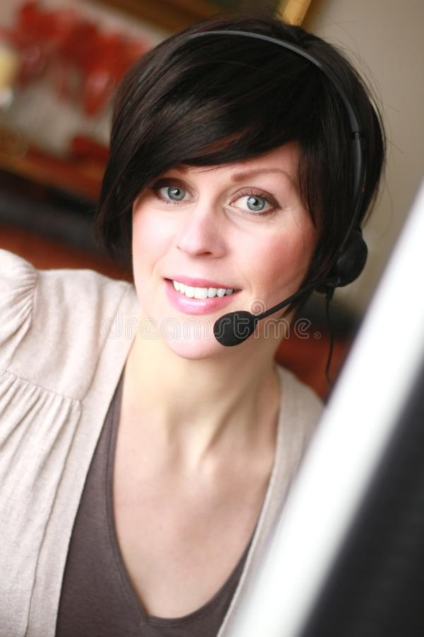 Download Office receptionist 3 stock photo. Image of administrator - 18395808