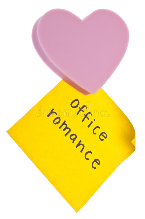 Office Romance Royalty Free Stock Photo