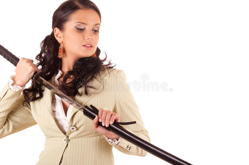 Download Office Samurai stock photo. Image of katana, japanese - 11524806