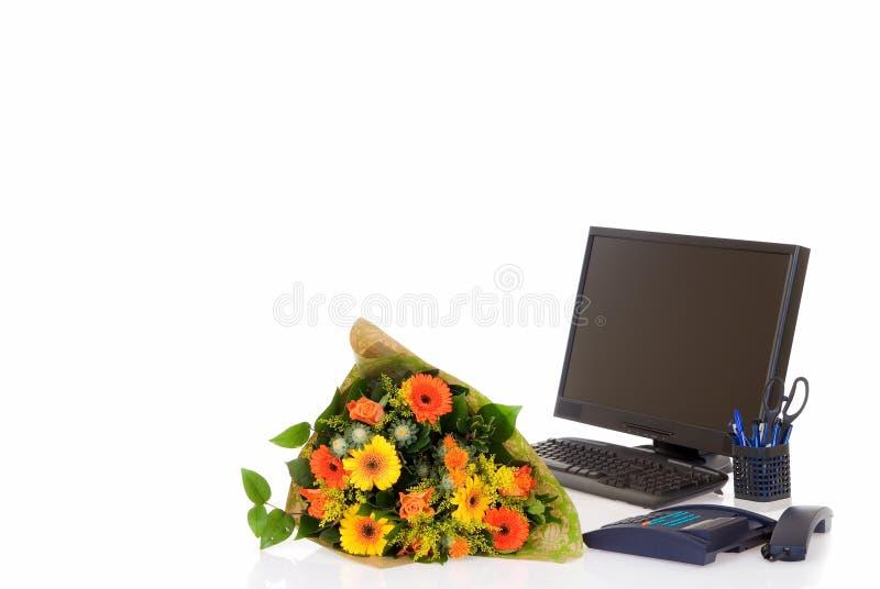 Office, secretary day stock photos