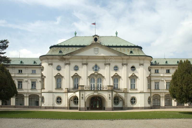 Office of slovak government royalty free stock photos