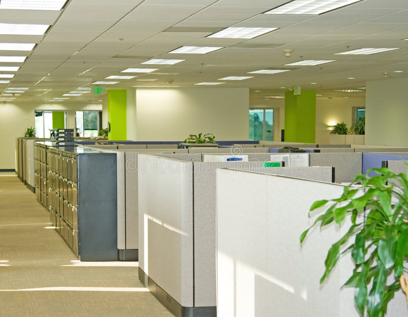 Office Spaces royalty free stock photography