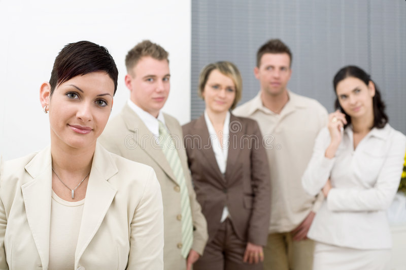 Download Office Staff stock image. Image of coworkers, confidence - 3926261