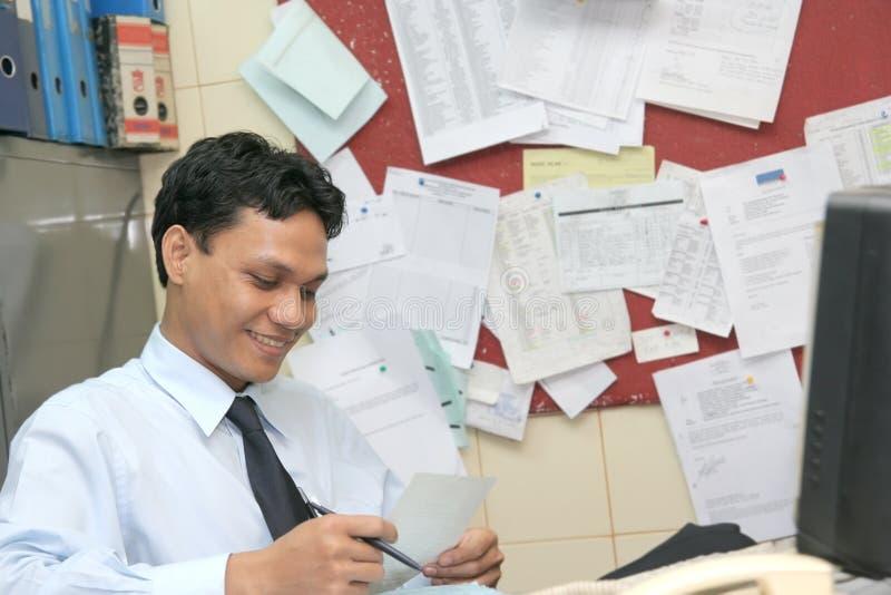 Office staff stock photo