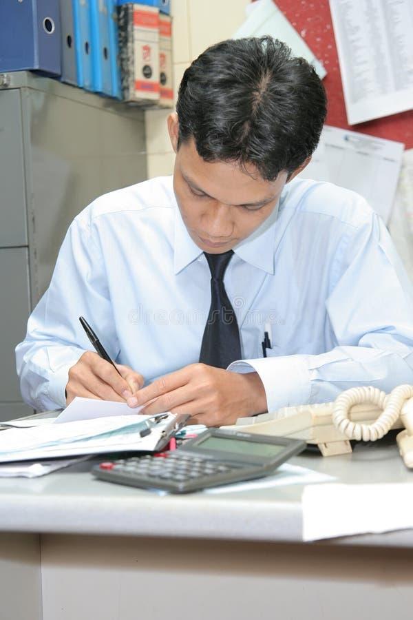 Office staff worker stock photos